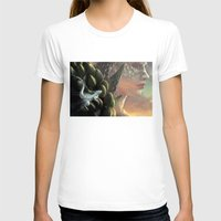 dragons T-shirts featuring Dragons by Nell Fallcard