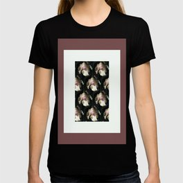 Soft peach iris T-shirt