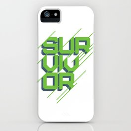 """Survivor"" Winner's Circle iPhone Case"