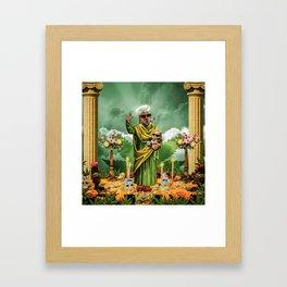 Dope Saint Framed Art Print