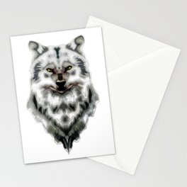 WereWolf Face - 03 Stationery Cards