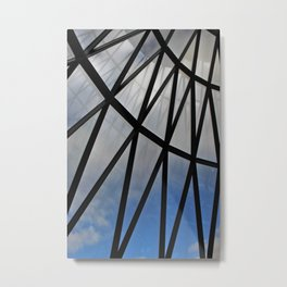 Lattice Gherkin Metal Print