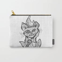 MAD BALD CAT Carry-All Pouch