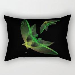 In Flight 4 of 5 Series Rectangular Pillow