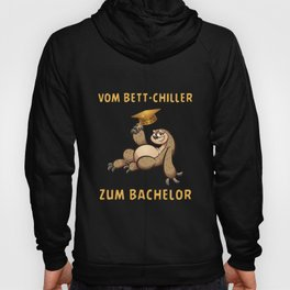 Bachelor 2020 graduation gift bed chiller sloth Hoody