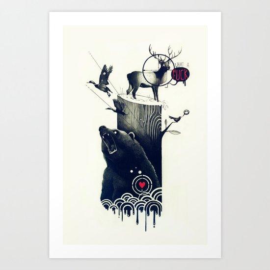 Hunting Season Art Print