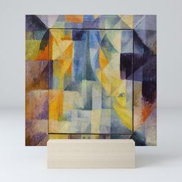 "Robert Delaunay ""Simultaneous Windows onto the City"" (1st Part, 2nd Motif, 1st Replica) Mini Art Print"
