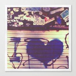 i love Canvas Print