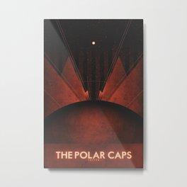 Triton - The Polar Caps Metal Print