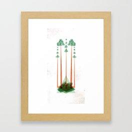 3Lives - Plant Framed Art Print