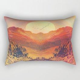 Tangerine Lemonade_ Rectangular Pillow