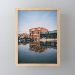 City Pier, Fells Framed Mini Art Print