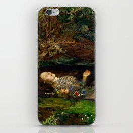 Ophelia - John Everett Millais iPhone Skin