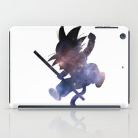 goku iPad Cases featuring SPACE GOKU by DrakenStuff+