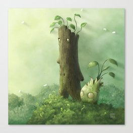 Plant Folk Canvas Print