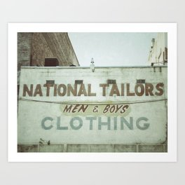 Tailors Art Print