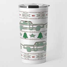 Trucker Christmas Travel Mug