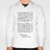 florence Hoodies featuring Howl- Florence by Brittain Rhea