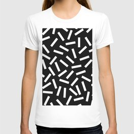 80s Memphis Bacteria Sprinkles T-shirt