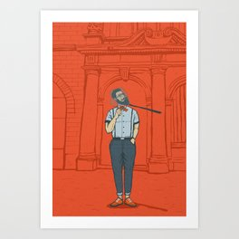 Capturing the Zeitgeist Art Print