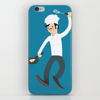 chef iPhone & iPod Skins featuring Chef by bluespore