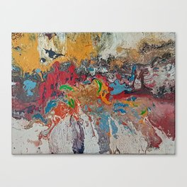 Landscape with Formless Investigation Canvas Print