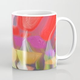 Tall Flowers Coffee Mug