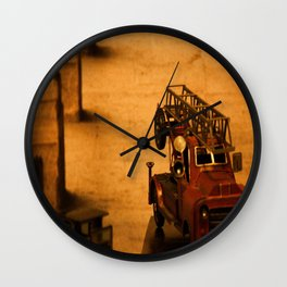Lost Cars One Wall Clock