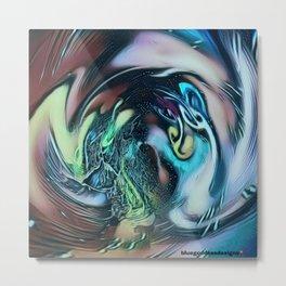 OceanBlues Metal Print