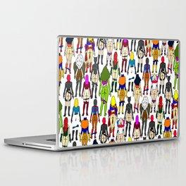 Superheroine Butts Laptop & iPad Skin