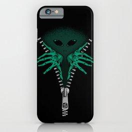 Alien inside iPhone Case