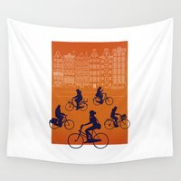 amsterdam Wall Tapestries featuring Amsterdam by Ben Whittington