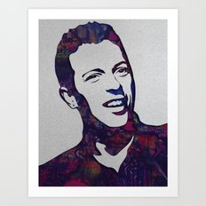 chris martin Art Print