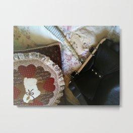 A Lady's Treasure Metal Print