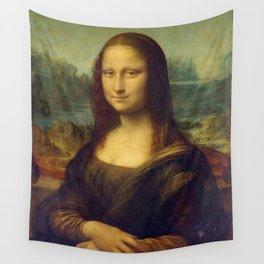 Mona Lisa - Leonardo da Vinci Wall Tapestry