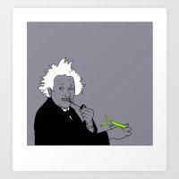 Albert Art Print