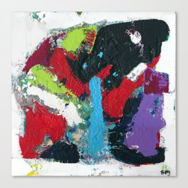 Tic Modern Painting Canvas Print