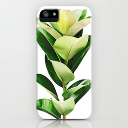 Tropical Rubber iPhone Case