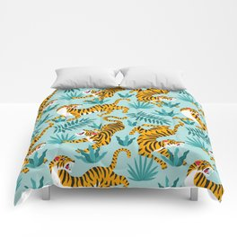 TIGER PATTERN Comforters