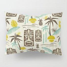 Island Tiki - Tan Pillow Sham