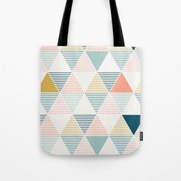Modern Geometric Tote Bag