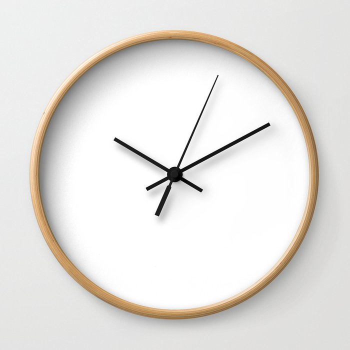 It`s a Beautiful Day To Leave Me Alone T-Shirt Wall Clock