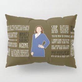 Agent Carter Pillow Sham