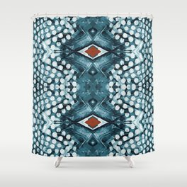 dots dream Shower Curtain