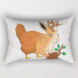 The Woolly Wolpertinger Rectangular Pillow