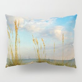 Sea Oats along the Beach Pillow Sham