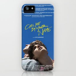 Call Me By Your Name Movie iPhone Case