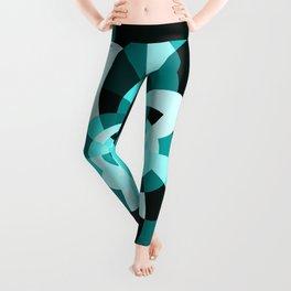 Aqua Kaleidscope Leggings