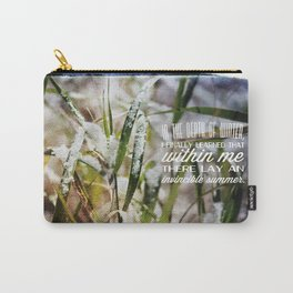 Invincible Summer. Carry-All Pouch