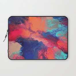 Arcylic Pouring - Bright Laptop Sleeve